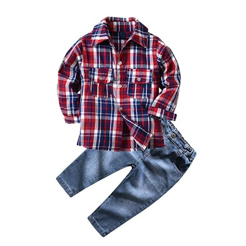 Pants and Shirt for Boys - Holiday Gifts for Kids 3-5 Years Old - At Home With Zan