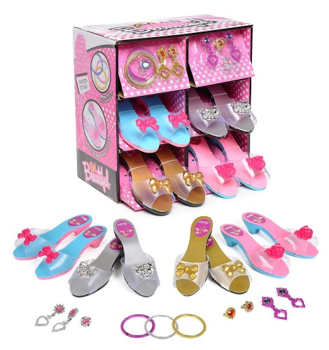 Princess Shoes - Ages 3-10 - Holiday Gift Guide - Kids 3-5 Years old - At Home With Zan