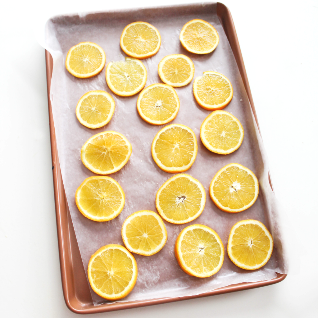 Dried - Cinnamon Orange Slices - Holiday Scent - At Home With Zan -