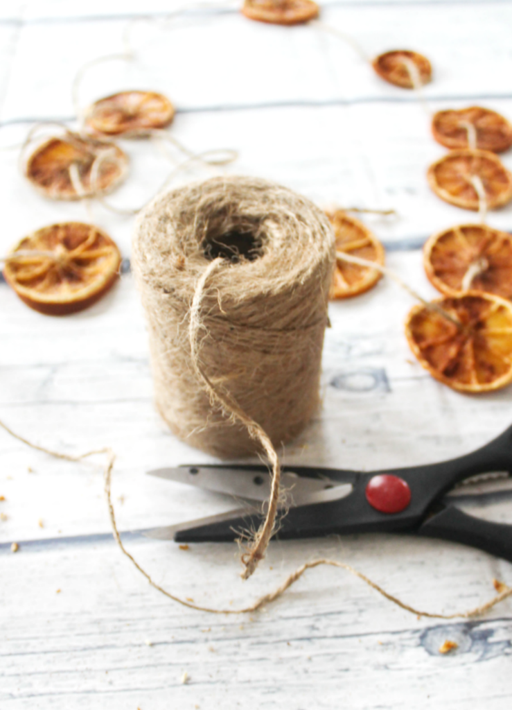 -Dried Orange Slices - With Cinnamon - At Home With Zan -