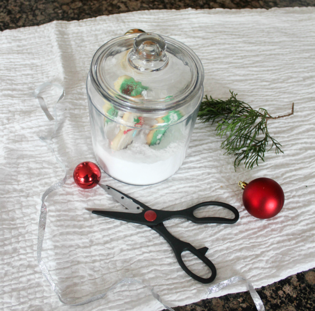 How to Create Christmas Cookies in a Jar for Gifting - Christmas Gifting - Holiday Decorating - At Home With Zan