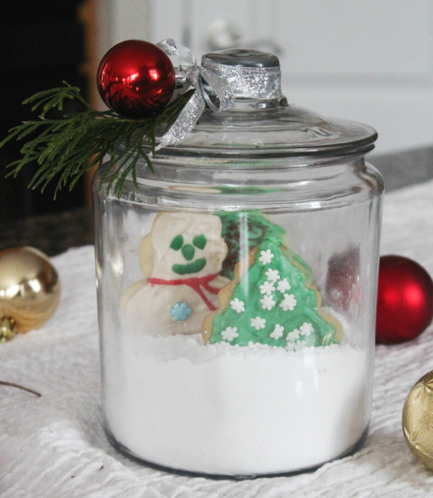 How to Create Christmas Cookies in a Jar for Gifting and Decorating - Christmas Gifting - Holiday Decorating - Christmas - Holiday - At Home With Zan-
