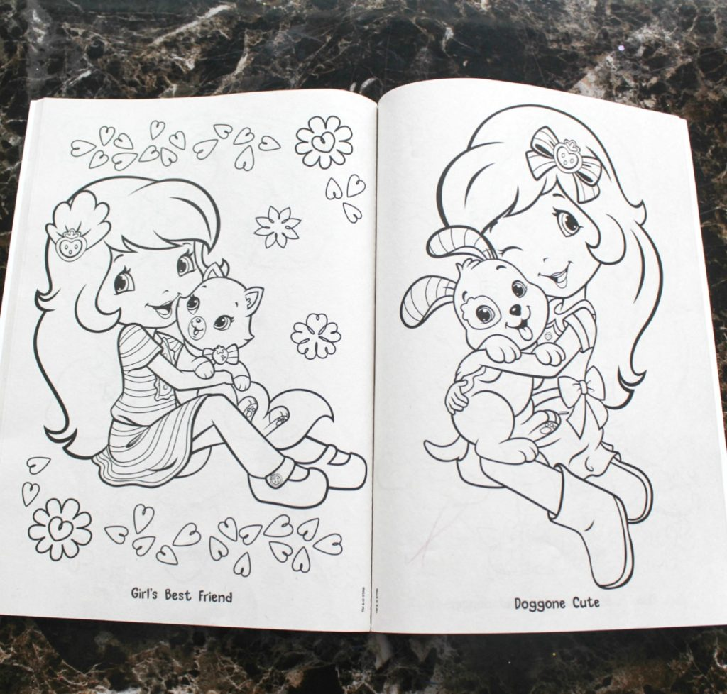 activity bins coloring books