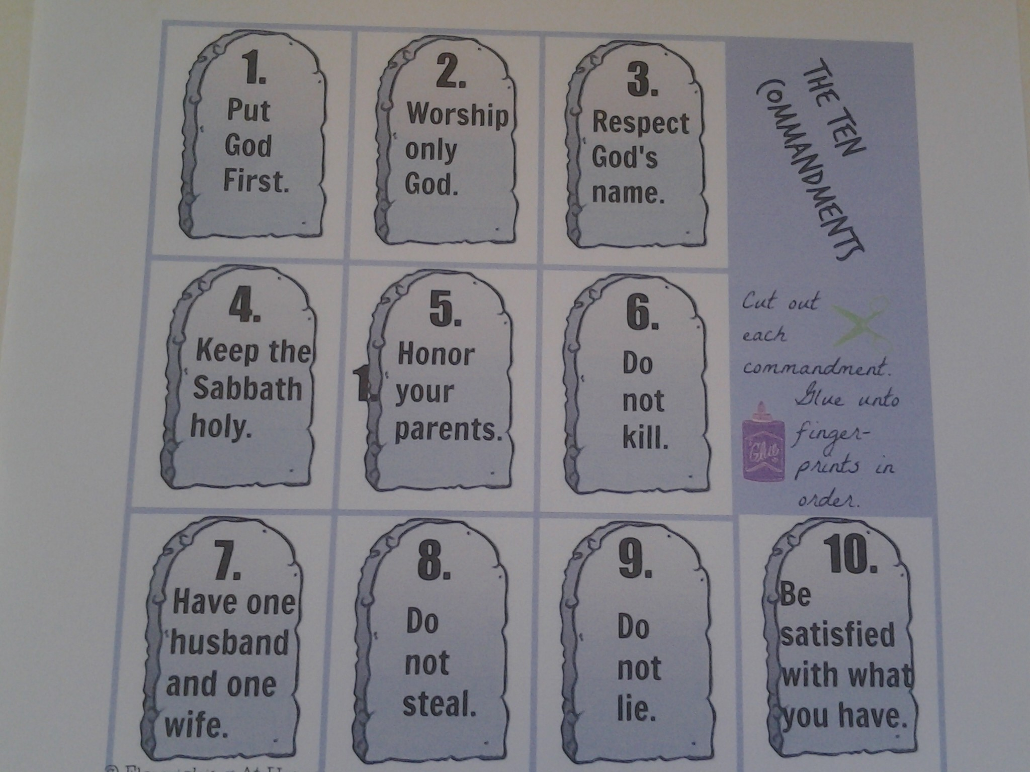 Ten commandments of essay writing