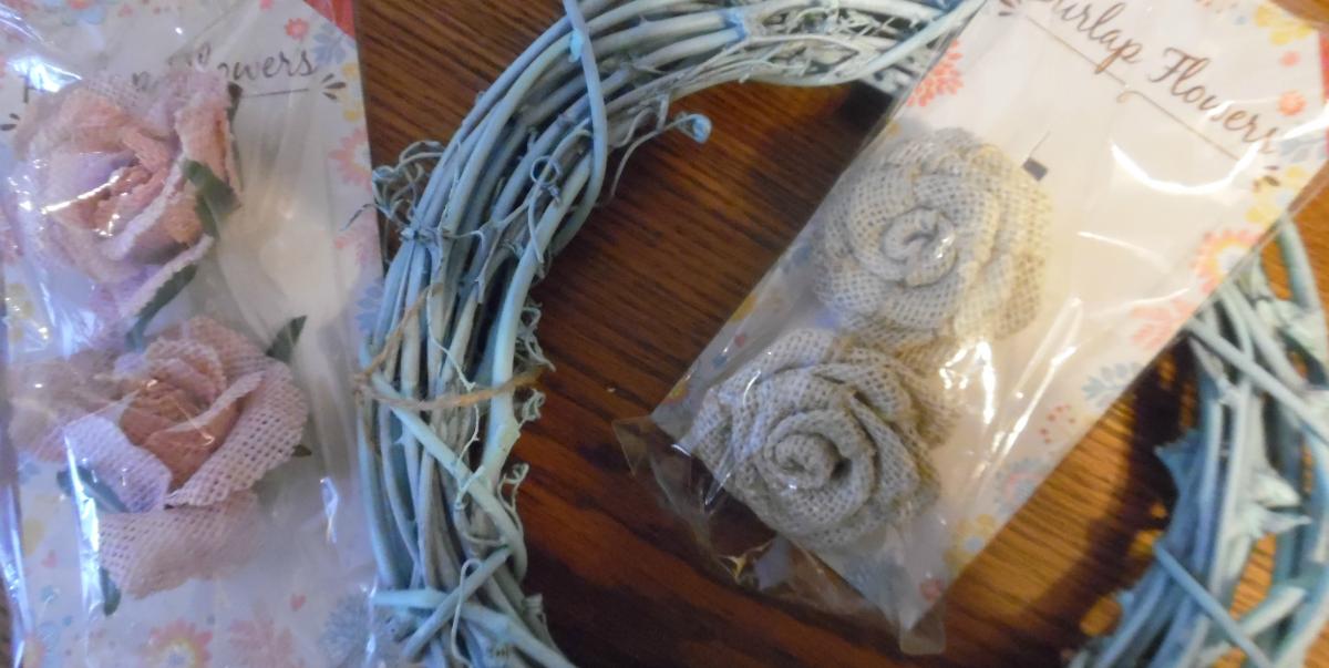 Spring Wreath Materials