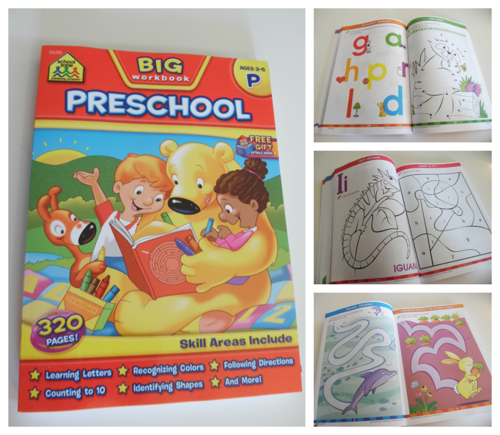 Workbooks Resources to Teach Preschoolers At Home – At Home With Zan