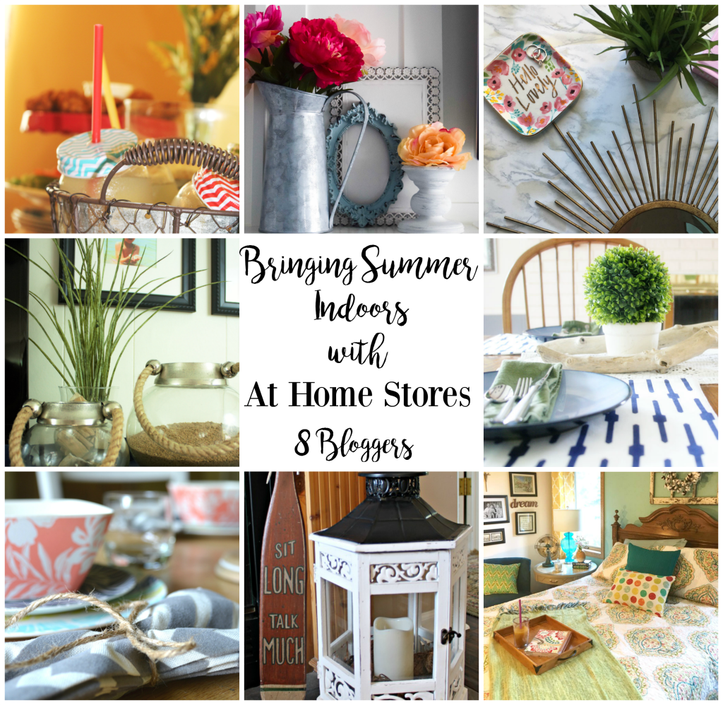 Bringing Summer Indoors with At Home Stores