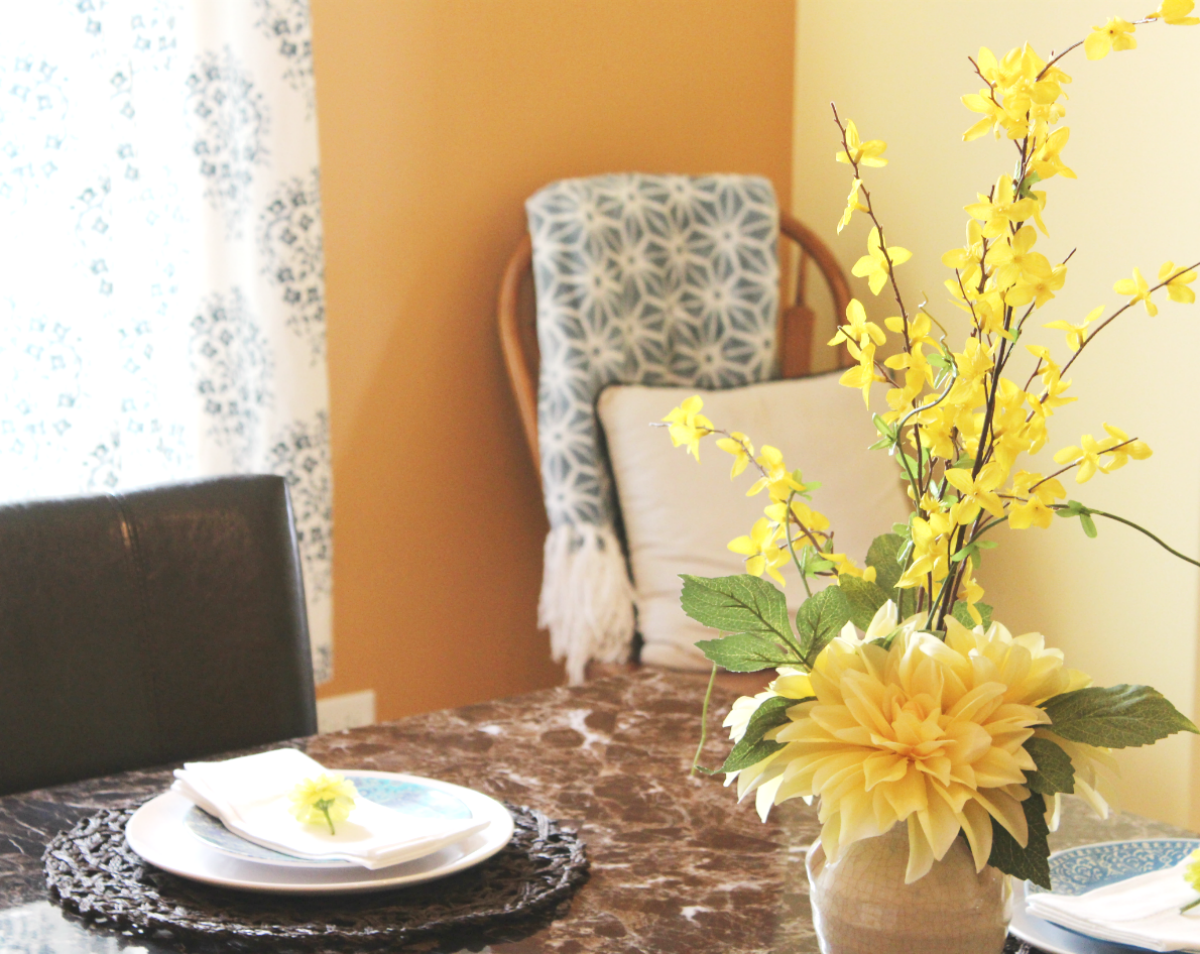Summer Dinning Room Reveal - Table