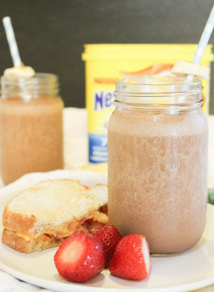Nesquik smoothie recipe