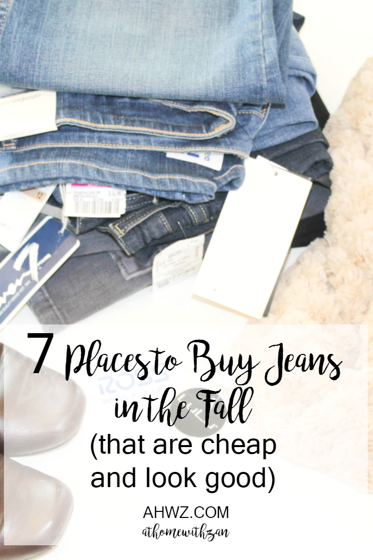 7 Places to Buy Jeans in the Fall (That are Cheap and Look Good
