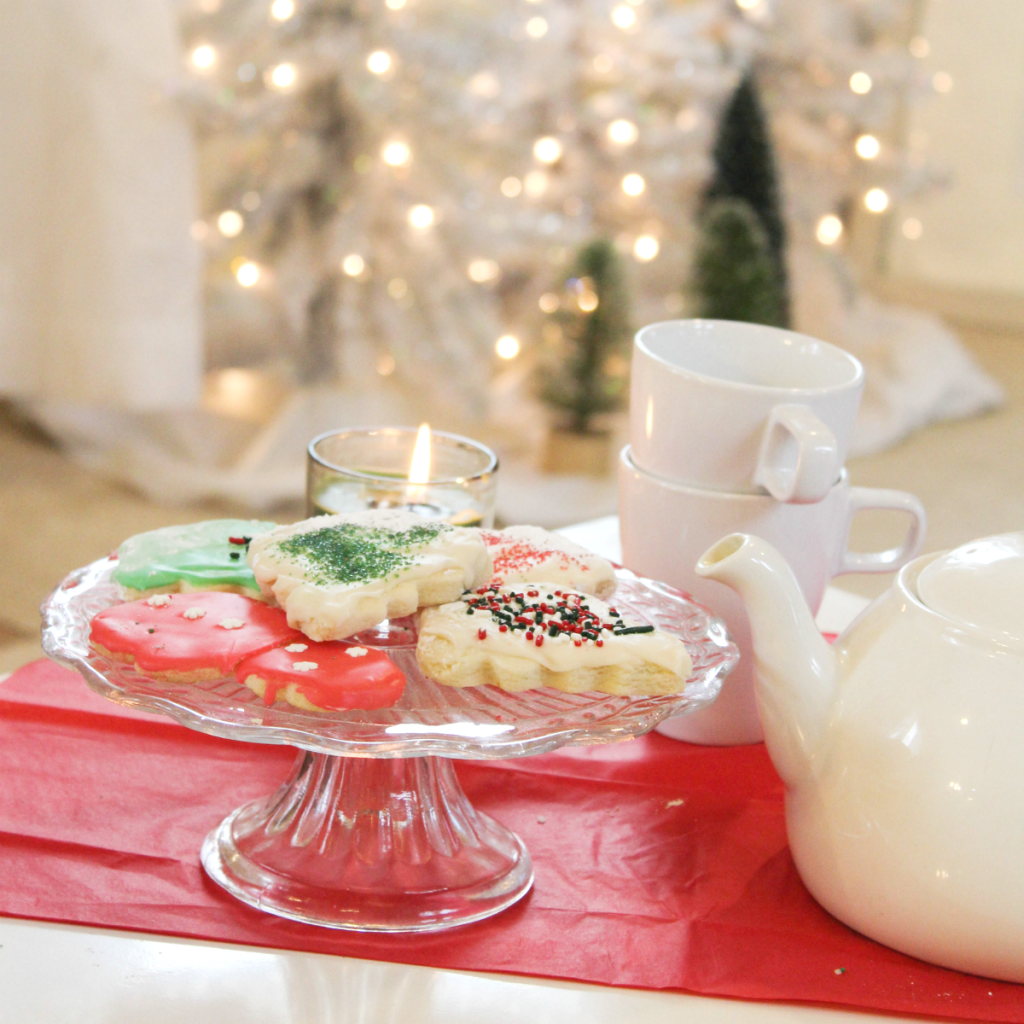 Holiday Tea Party Amp A Movie At Home With Zan