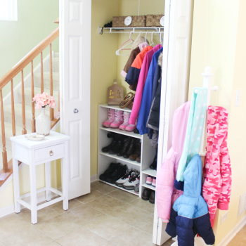 Organized Entryway feature