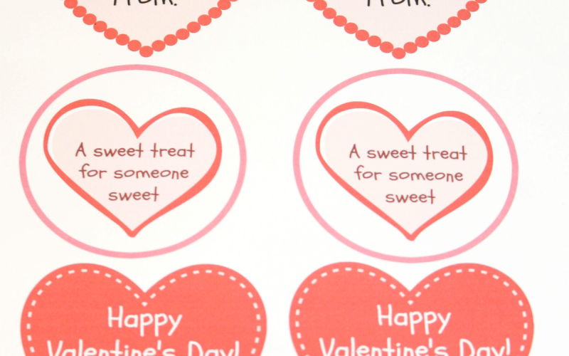 Budget-Friendly Valentine's Gift for Classmates Plus Free Gift Tags