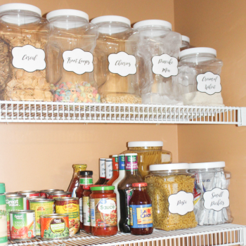 pantry org feature