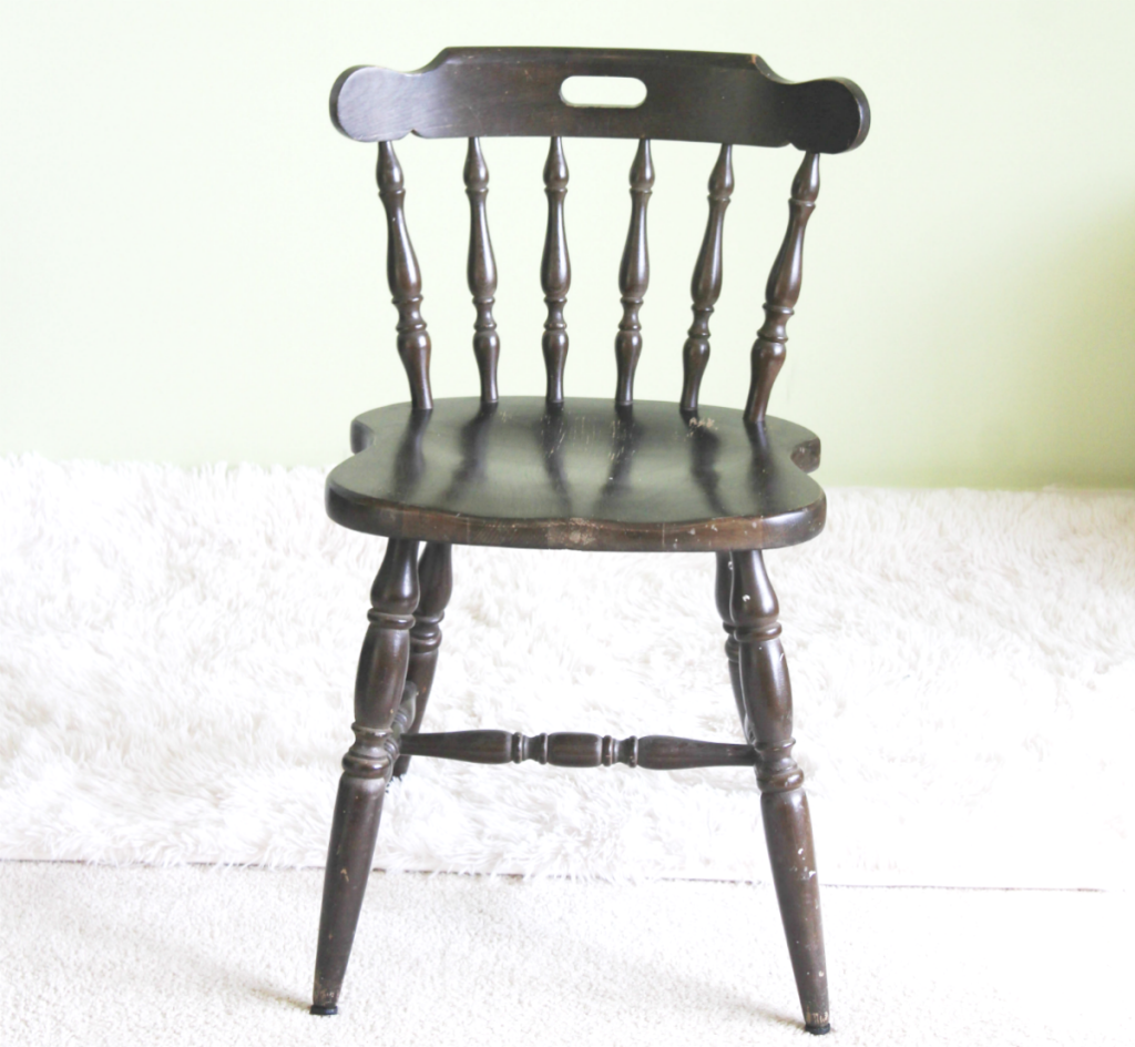 Chair Makeover - Black Chair