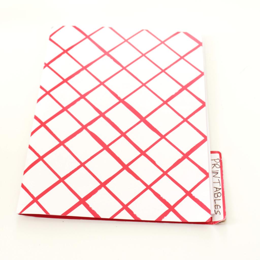 Printable folder