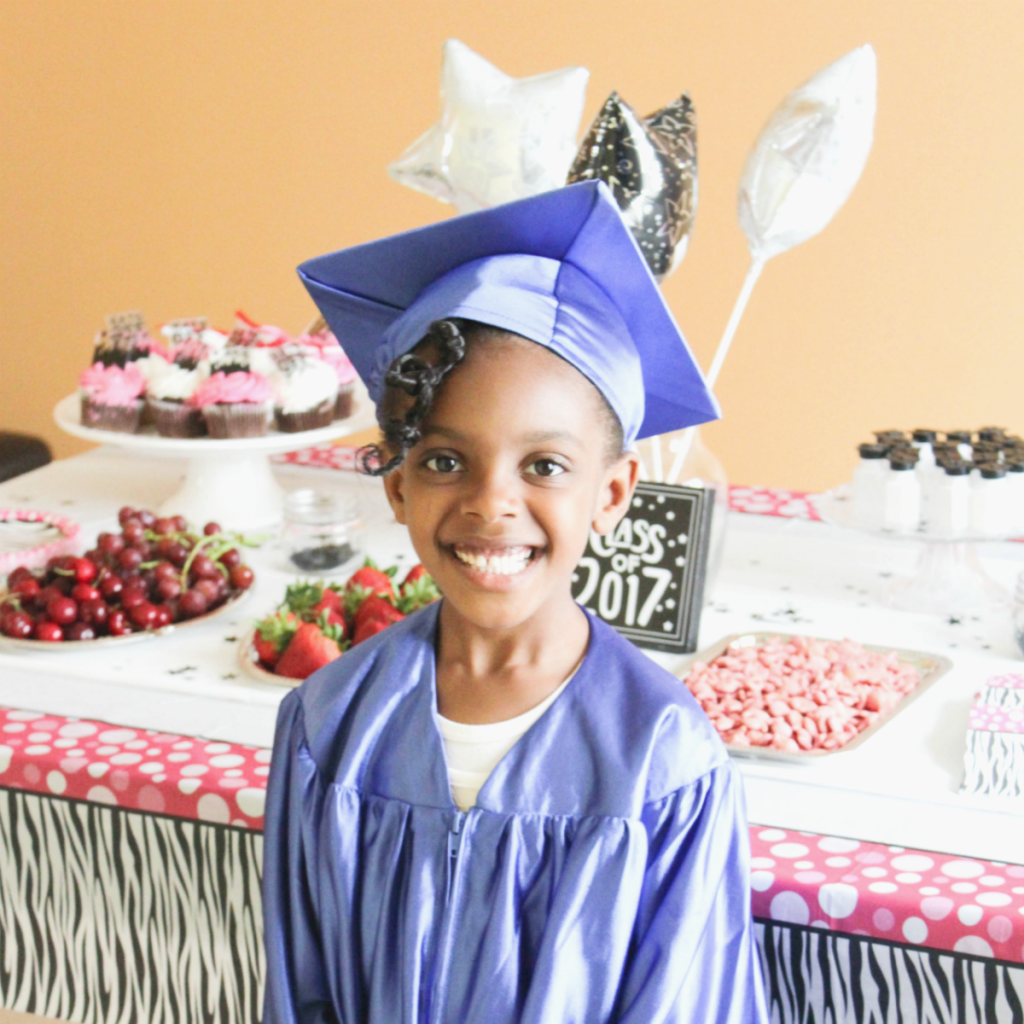 Kindergarten Graduation Party - At Home With Zan -
