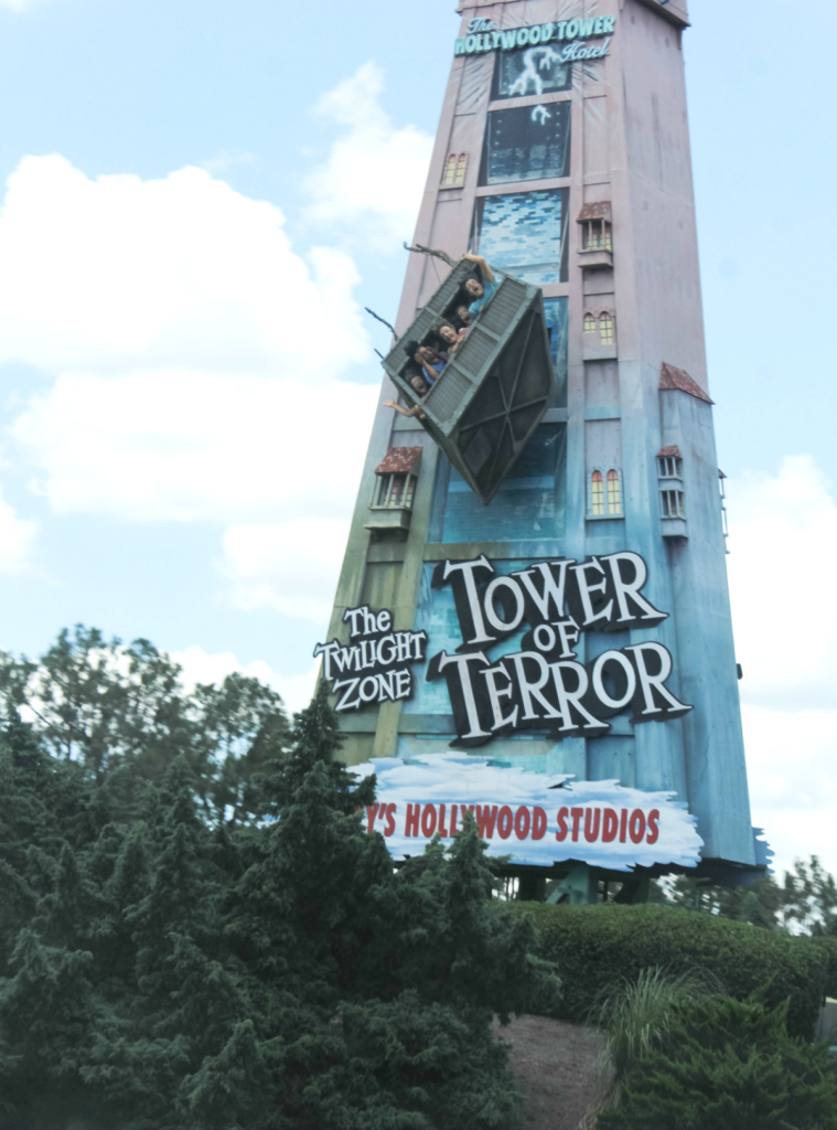 Orlando Vacation - Disney -Tower of Terror - At Home With Zan