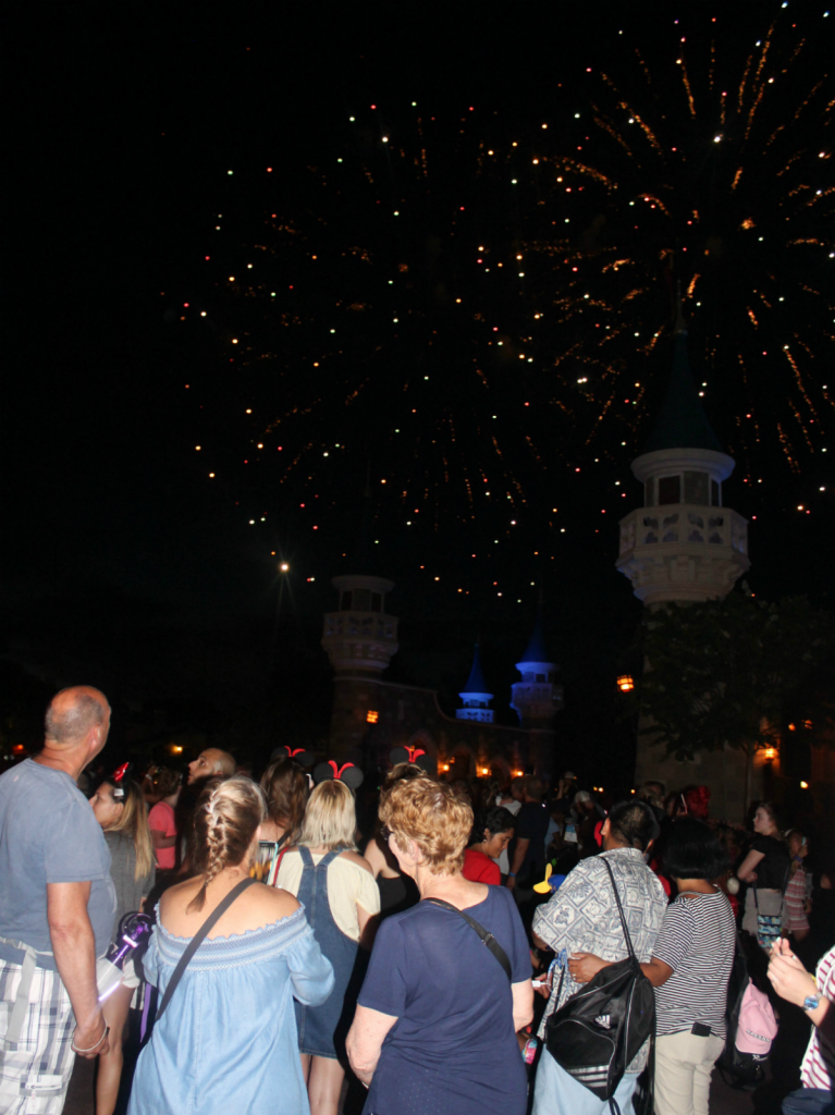 Orlando Vacation - Disney's Magic Kingdom - Fourth of July Fireworks - At Home With Zan-