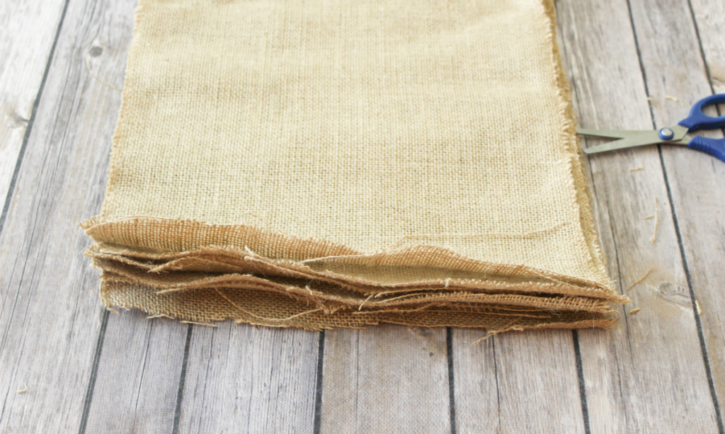 DIY Burlap Placemats - Autumn - At Home With Zan