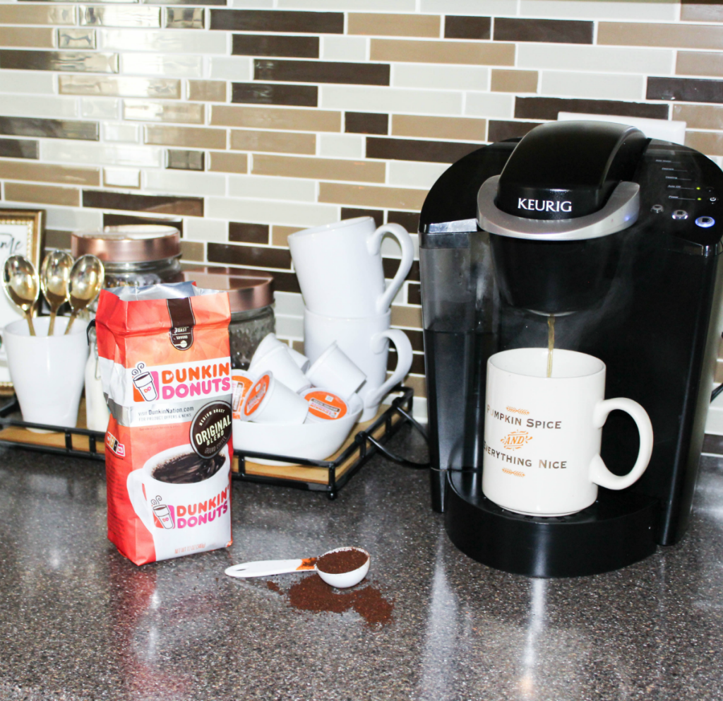 Fall Kitchen - Mocha Recipe - Dunkin' Donuts Coffee - At Home With Zan