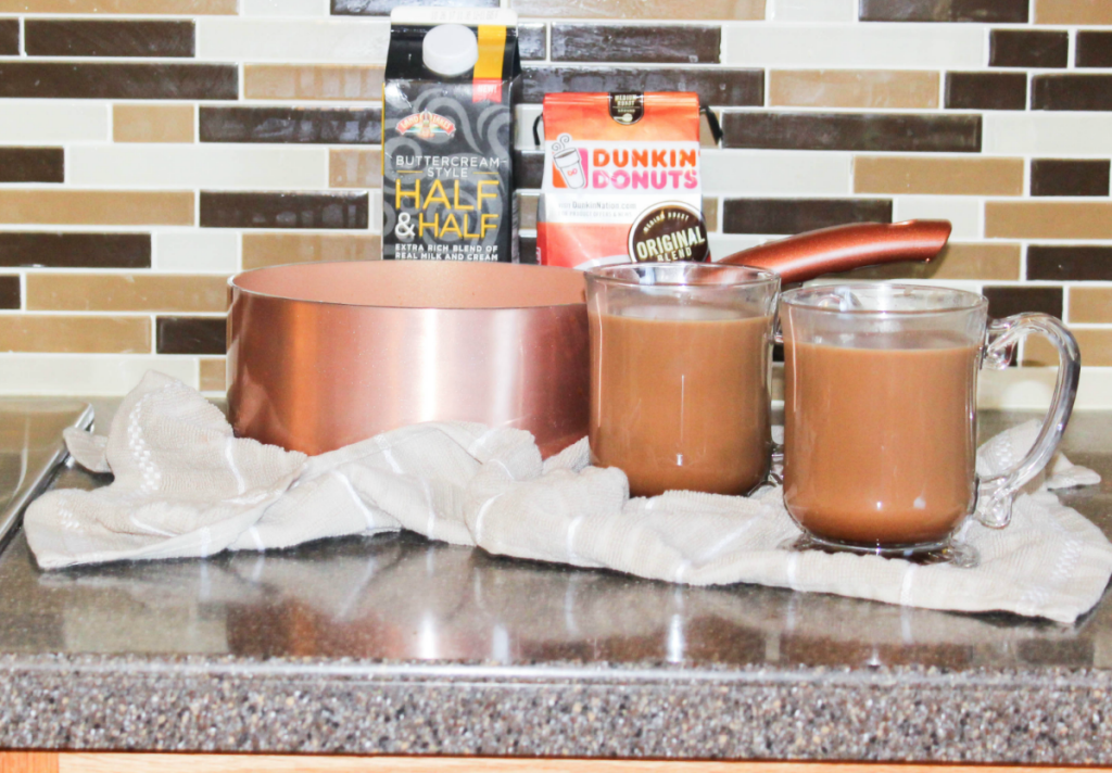 Fall Kitchen and Caramel Mocha - With Dunkin' Donuts - At Home With Zan