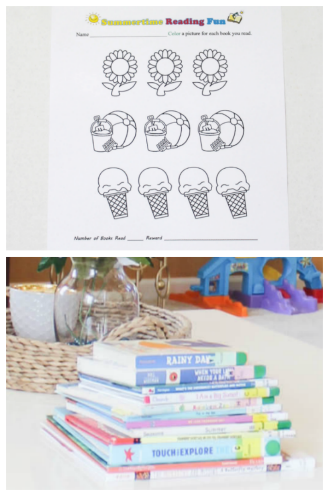 Summer Reading Coloring Pages for Kids - At Home With Zan