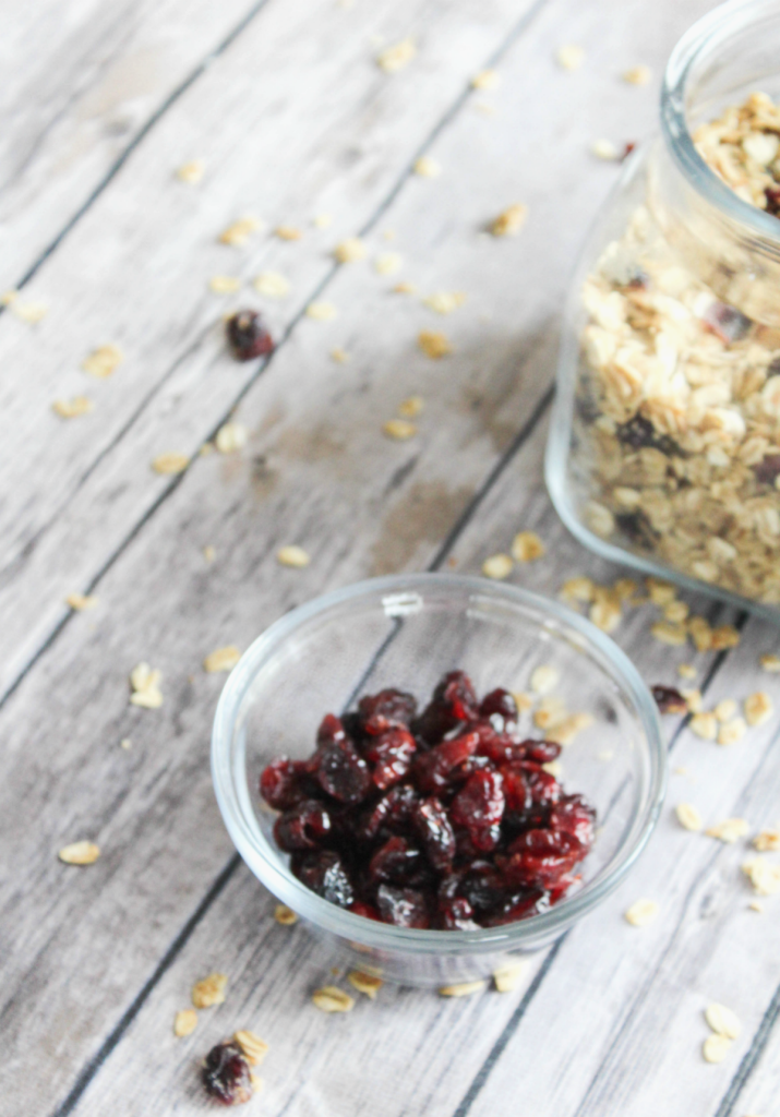 Homemade Granola - With Cranberry - Kid Friendly - At Home With Zan