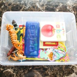 activity bin for 4 year olds