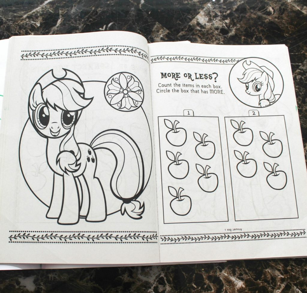 activty bins coloring books